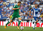 Gumbau in action during La Liga Game between RCD Espanyol agaisnt Leganes at RCDE Stadium