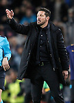 Atletico de Madrid's coach Diego Pablo Simeone during Champions League 2015/2016 match. April 5,2016. (ALTERPHOTOS/Acero)