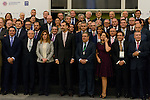 Spanish King Felipe VI Closure the annual Conference of the Spanish Federation of Directors and Officers (CEDE)  in Seville, Spain. (ALTER PHOTOS/CARLOS BOUZA)