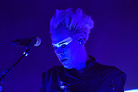 LONDON, ENGLAND - JULY 09: Luke Steele of 'Empire of the Sun' performing at Brixton Academy on July 9, 2019 in London, England.<br /> CAP/MAR<br /> ©MAR/Capital Pictures