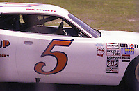 Pole-sitter Neil Bonnett at the Firecracker 400 at Daytona International Speedway in Daytona Beach, Florida on July 4, 1977. (Photo by Brian Cleary/www.bcpix.com)