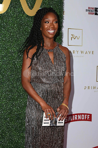WEST HOLLYWOOD, CA - FEBRUARY 11: Brandy Norwood at the Primary Wave 11th Annual Pre-GRAMMY Party at The London West Hollywood in West Hollywood, California on February 11, 2017. Credit: David Edwards/MediaPunch