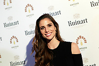 Spanish journalist Lucia Villalon attends the inauguration of the Maison de champagne and gourmet pizza of Ruinart. November 13, 2017. (ALTERPHOTOS/Acero) /NortePhoto.com