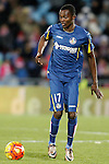 Getafe's Bernard Mensah during La Liga match. February 14,2016. (ALTERPHOTOS/Acero)