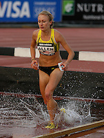 Lindsey Allen ran 9:47.21 in the Steeplechase at the Adidas Track Classic 2009 held at the Home Depot Center on Saturday, May 16, 2009. Photo by Errol Anderson,The Sorting Image.net