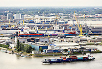 Nederland Rotterdam 2016 . De Maas. Haven van Rotterdam. Foto Berlinda van Dam / Hollandse Hoogte