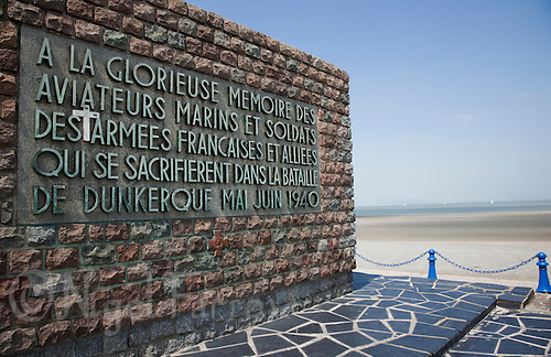 21 MAY 2011 - DUNKERQUE, FRA - The Dunkirk Memorial remembering those who lost their lives during the evacuation of members of the British, French and other allied forces from the beaches at Dunkerque in May and June 1940 during the Second World War (PHOTO (C) NIGEL FARROW)
