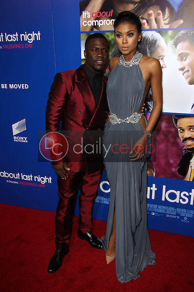 Kevin Hart, Eniko Parrish<br /> at the &quot;About Last Night&quot; Los Angeles Premiere, Arclight, Hollywood, CA 02-11-14<br /> David Edwards/Dailyceleb.com 818-249-4998