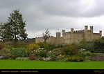 Pavilion Lawn, Leeds Castle, Maidstone, Kent, England, UK