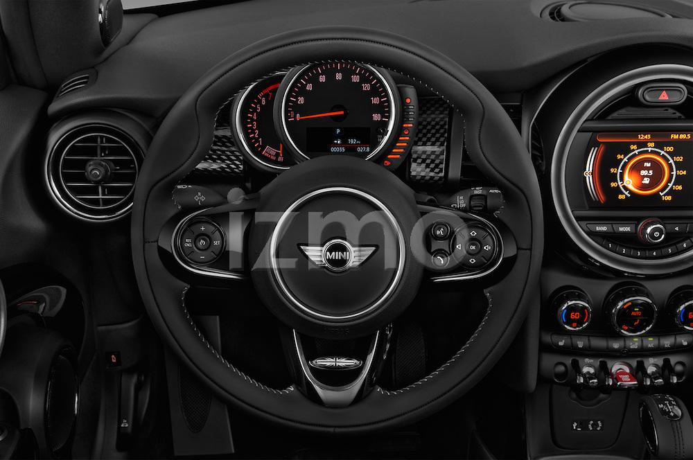 Car pictures of steering wheel view of a 2017 MINI Cooper S 2 Door Convertible Steering Wheel