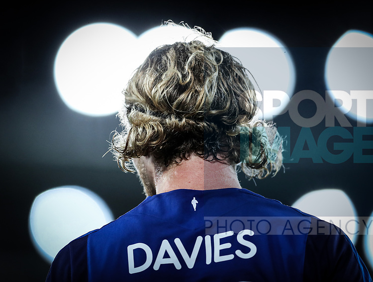 Everton's Tom Davies in action during the Europa League Qualifying Play Offs 1st Leg match at Goodison Park Stadium, Liverpool. Picture date: August 17th 2017. Picture credit should read: David Klein/Sportimage