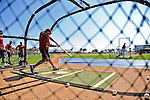19 February 2011: Washington Nationals' outfielder Michael Morse takes hitting drills during Spring Training at the Carl Barger Baseball Complex in Viera, Florida. Mandatory Credit: Ed Wolfstein Photo