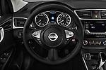 Car pictures of steering wheel view of a 2017 Nissan Sentra SV 4 Door Sedan Steering Wheel