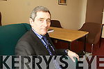 Judge Ray Fulham originally from Tralee at Tralee courthouse on Friday.
