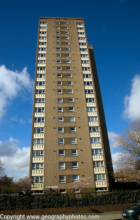 Sarah Robinson House high rise flats Portsmouth, Hampshire, England