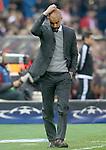 FC Bayern Munchen's coach Pep Guardiola during Champions League 2015/2016 Semi-Finals 1st leg match. April 27,2016. (ALTERPHOTOS/Acero)