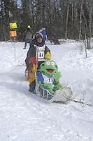 Benedikt Beisch Anchorage Start Iditarod 2008.