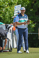 Jon Rahm (ESP) looks over his tee shot on 3 during Round 1 of the Zurich Classic of New Orl, TPC Louisiana, Avondale, Louisiana, USA. 4/26/2018.<br /> Picture: Golffile | Ken Murray<br /> <br /> <br /> All photo usage must carry mandatory copyright credit (&copy; Golffile | Ken Murray)