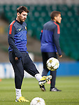 Lionel Messi looking disinterested