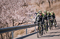 Chris Juul-Jensen (DEN/Michelton-Scott)<br /> <br /> Michelton-Scott training camp in Almeria, Spain<br /> february 2018