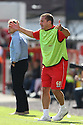 Stevenage manager Graham Westley<br />  Swindon Town v Stevenage - Sky Bet League One- The County Ground, Swindon - 10th August 2013<br /> © Kevin Coleman 2013