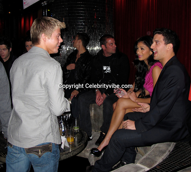 Derek Hough, Nicole Scherzinger and Mark Ballas..Us Weekly Hot Hollywood Style Issue Party..Drai's Hollywood Nightclub..Hollywood, CA, USA..Thursday, April 22, 2010..Photo By CelebrityVibe.com.To license this image please call (212) 410 5354; or Email: CelebrityVibe@gmail.com ; .website: www.CelebrityVibe.com.