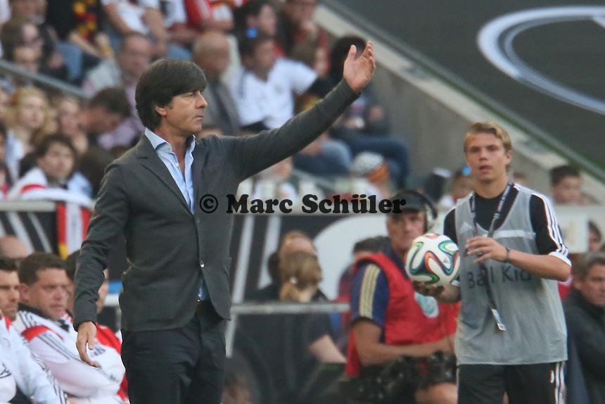 Bundestrainer Joachim Löw (D) - Deutschland vs. Kamerun, Mönchengladbach