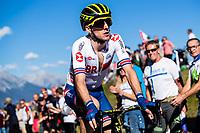 Picture by Alex Whitehead/SWpix.com - 30/09/2018 - Cycling - UCI 2018 Road World Championships - Innsbruck-Tirol, Austria - Elite Men's Road Race. Simon Yates of Great Britain.