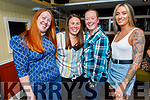 Sarah Carey from Tralee, celebrating her birthday in the Brogue Inn on Saturday.<br /> L to r: Natasha Curry, Laura Baker, Sarah Carey and Emma Corkey
