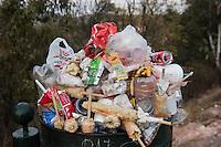 Garbage, La Bufa, Zacatecas, Zacatecas, Mexico
