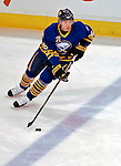 9 December 2006: Buffalo Sabres left wing forward Thomas Vanek (26) from Austria brings the puck over the blue line against the Montreal Canadiens at the Bell Centre in Montreal, Canada. The Sabres defeated the Canadiens 3-2 in a shootout, taking their third contest in the month of December. Mandatory Photo credit: Ed Wolfstein Photo<br />  *** Editorial Sales through Icon Sports Media *** www.iconsportsmedia.com