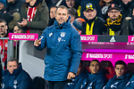 "09.11.2019, Allianz Arena, Muenchen, GER, 1.FBL,  FC Bayern Muenchen vs. Borussia Dortmund, DFL regulations prohibit any use of photographs as image sequences and/or quasi-video, im Bild Hans-Dieter ""Hansi"" Flick  (Cheftrainer FCB) <br /> <br />  Foto © nordphoto / Straubmeier"