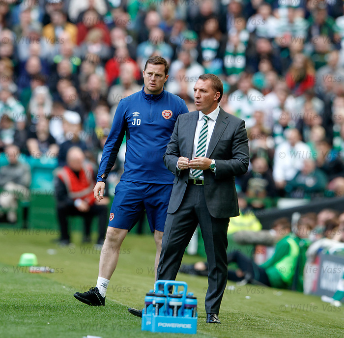 Brendan Rodgers and Jon Daly