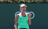 ELENA VESNINA (RUS)<br /> <br /> BNP PARIBAS OPEN, INDIAN WELLS, TENNIS GARDEN, INDIAN WELLS, CALIFORNIA, USA<br /> <br /> &copy; TENNIS PHOTO NETWORK