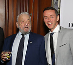 Stephen Sondheim and Andrew Lippa attends 2017 Dramatists Guild Foundation Gala reception at Gotham Hall on November 6, 2017 in New York City.