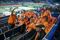 31-01-14,Czech Republic, Ostrava, Cez Arena, Daviscup Czech Republic vs Netherlands, , , draw,  <br /> Photo: Henk Koster