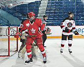 Sudbury, ON - April 26 2018 - Game 11 - Moncton Flyers vs Toronto Young Nationals at the 2018 TELUS Cup at the Sudbury Community Arena in Sudbury, Ontario, Canada (Photo: Matthew Murnaghan/Hockey Canada)