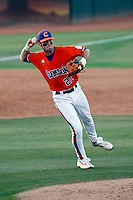 Matt Saunders of the Clemson Tigers playing against the Arizona State Sun Devils in the NCAA Super Regional Tournament won by ASU at Packard Stadium, Tempe, AZ - 06/06/2009.Photo by:  Bill Mitchell/Four Seam Images
