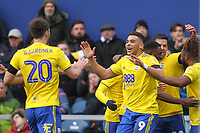 Che Adams of Birmingham City scores and celebrates his third goal during Queens Park Rangers vs Birmingham City, Sky Bet EFL Championship Football at Loftus Road Stadium on 9th February 2019