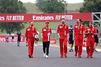 16th July 2020, Hungaroring, Budapest, Hungary; F1 Grand Prix of Hungary, drivers arrival and track inspection day; Sebastian Vettel GER 5, Scuderia Ferrari