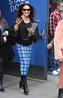 NEW YORK, NY - APRIL 12: Diane Von Furstenberg seen at Good Morning America promoting her annual DVF Awards in New York City on April 12, 2018. <br /> CAP/MPI/RW<br /> &copy;RW/MPI/Capital Pictures