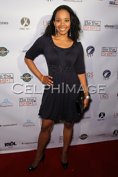 TIFFANY DIAMOND SMITH. Red Carpet arrivals to the launch event of Be The Shift at Industry Night Club. West Hollywood, CA, USA. 6/14/2010..