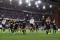 Inter players celebrate at the end of the match <br /> Genova 28-09-2019 Stadio Luigi Ferraris Football Serie A 2018/2019 Sampdoria - FC Internazionale  <br /> Photo Image Sport / Insidefoto