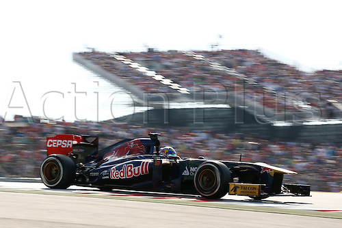 17.11.2013. Austin, Texas, USA. FIA Formula One World Championship 2013, Grand Prix of United States, <br /> #18 Jean-Eric Vergne (FRA, Scuderia Toro Rosso),