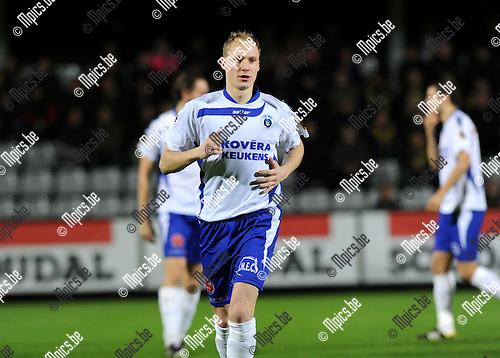 2013-11-02 / Voetbal / seizoen 2013-2014 / KVC Westerlo - KSK Heist / Jonas Vandermarliere<br />Foto: Mpics.be