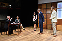 """CHINGLISH, by David Henry Hwang, opens at the Park Theatre. Directed by Andrew Keates, with lighting design by Christopher Nairne and set and costume design by Tim McQuillen-Wright. Picture shows:  Lobo Chan (Cai Guoliang), Candy Ma (Xi Yan), Siu-see Hung (Qian), Gyuri Sarossy (Daniel), Duncan Harte (Peter Timms)"