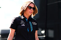 Claire Williams Team Principal Williams Austrian Hungarian GP, Budapest 2-4 August 2019<br /> Budapest 03/08/2019 GP Hungary <br /> Formula 1 Championship 2019 Race  <br /> Photo Federico Basile / Insidefoto