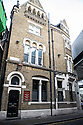 London, UK. 15.11.2014. The Globe public house, which featured in Bridget Jones' Diary, at Borough Market. Photograph © Jane Hobson.