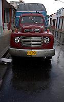 old Ford truck in Cienfuegos, Cuba
