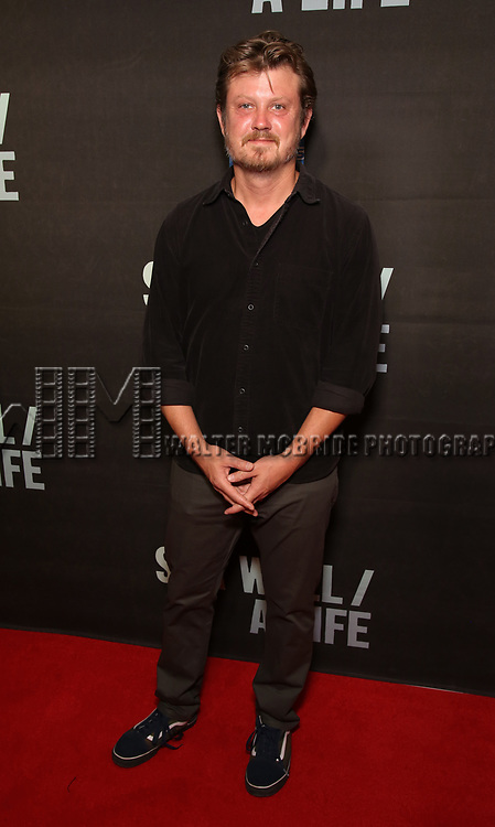 """Beau Williman attends the Broadway Opening Night performance of """"Sea Wall / A Life"""" at the Hudson Theatre on August 08, 2019 in New York City."""